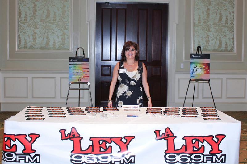 2012 HCAC Brilliance Awards: Event Media Partner, La Ley 96.9 FM/101.1FM, Angela I. Velazquez