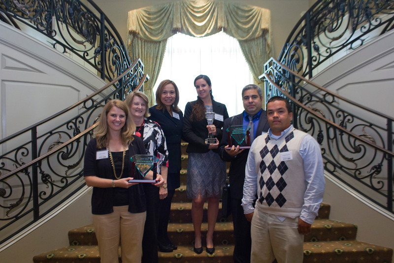 2012 HCAC Brilliance  Awards: Award Winners present.
