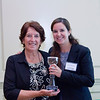 2012 HCAC Brilliance  Awards: Luisa Moreno, Executive Administrator, National Hispanic Construction Association with mother. Luisa Moreno, Award Winner - Community Advocate of the Year.
