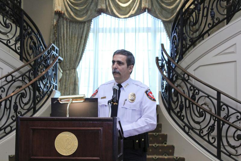 2012 HCAC Brilliance Awards: Chief Jose Lopez, Chief of Police, Durham, NC.