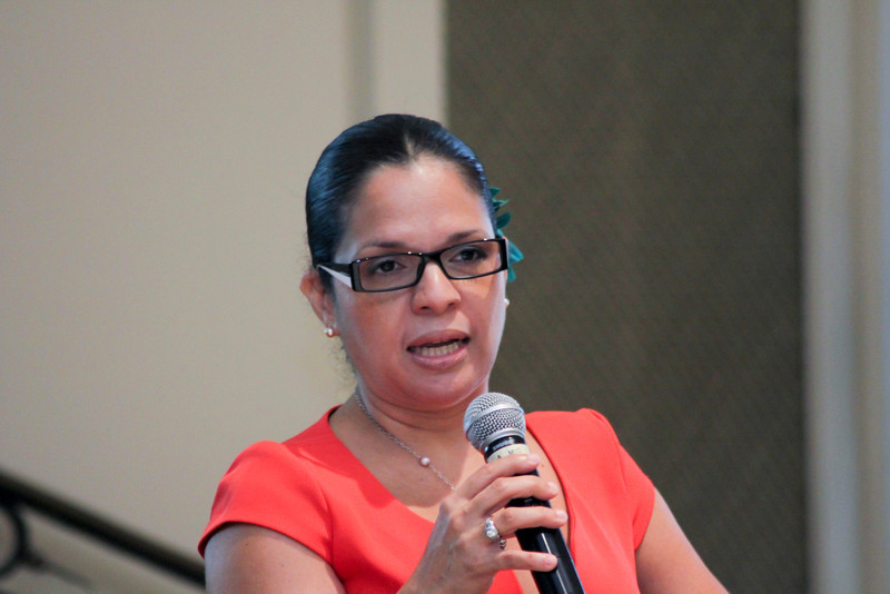 2012 HCAC Brilliance Awards: Mistress of Ceremony, Iris Ramírez Reese, Hispanic Market Consultant, Fusión Multicultural Marketing and Communications