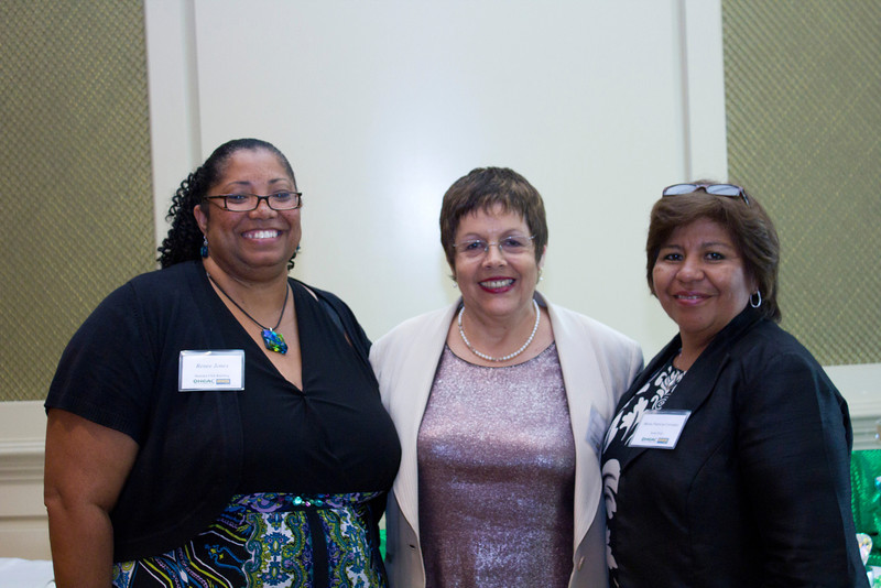 2012 HCAC Brilliance Awards: HCAC President, Renee Jones; ???; NHCA President, Maria Patricia Corrales