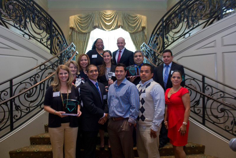 2012 HCAC Brilliance  Awards: Hispanic Contractors Association of the Carolinas Board of Directors and Award Winners.
