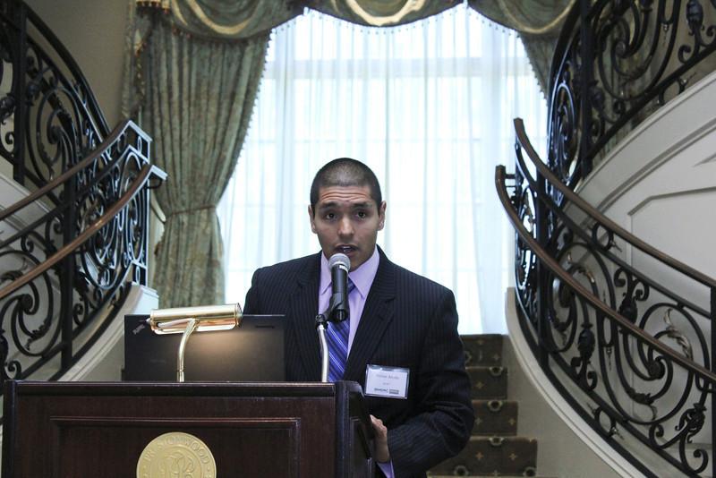 2012 HCAC Brilliance Awards: Julian Arcila, Executive Director, Hispanic Contractors Association of the Carolinas.