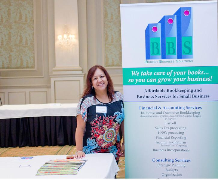 2012 HCAC Brilliance Awards: Sponsor, Budget Business Solutions LLC, Carolina Aponte, Business Partner