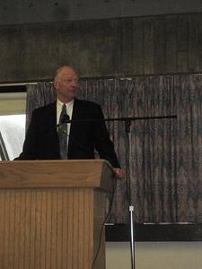 Speakers... e.g., the President of HCC Bill Messner