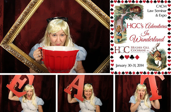 HGC's Adventures in Wonderland CACM Event 1.30-31.14 Photo Strips
