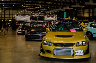 EVOS LINED UP