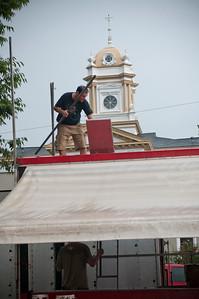 Historic Morganton Festival 2014 | Setup