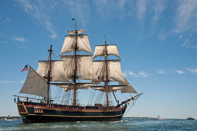 Sadly, the HMS Bounty was recently lost in Hurricane Sandy, her captain was never found.