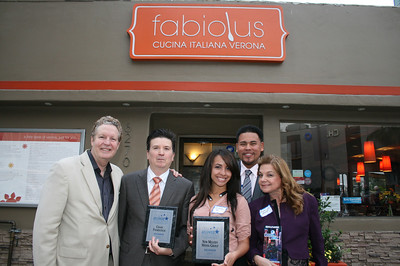 HOLLYWOOD CHAMBER OF COMMERCE MIXER @ FABIOLUS CUCINA • 04.24.13