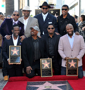 Boyz II Men Honored with the First Star of the Year on The Hollywood Walk of Fame. There Star is placed near legendary Motown artist The Supremes, Stevie Wonder, The Miracles, and the Temptations. Boyz II Men were joined by the Emcee: Hollywood Chambers of Commerce, Kenny Baby Face Edmonds, and Jimmy Jim& Terry Lewis Valerie Goodloe