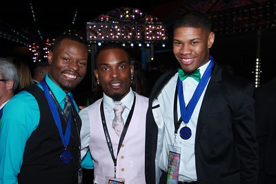 Cedric McClain, Isaiah Forte, Hope Frank