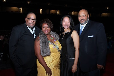 Carl and Camille Banks, Alysia and Victor  Green