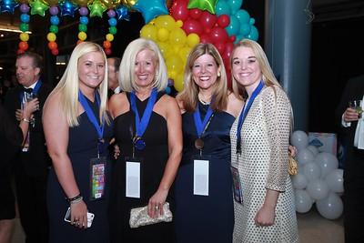 Maddie and Cindy Flynn, Julie and Aubrey Tutkovics