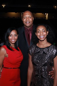Gina, Derrick and Nala Coleman