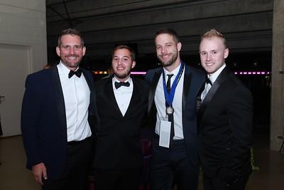 Ken Stann, Chris Theile, Ryan Griffith, Eric Lafferty