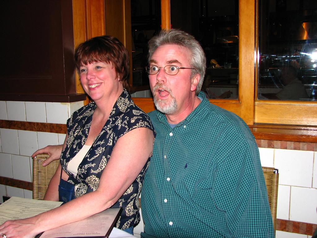 Teresa and Jon.