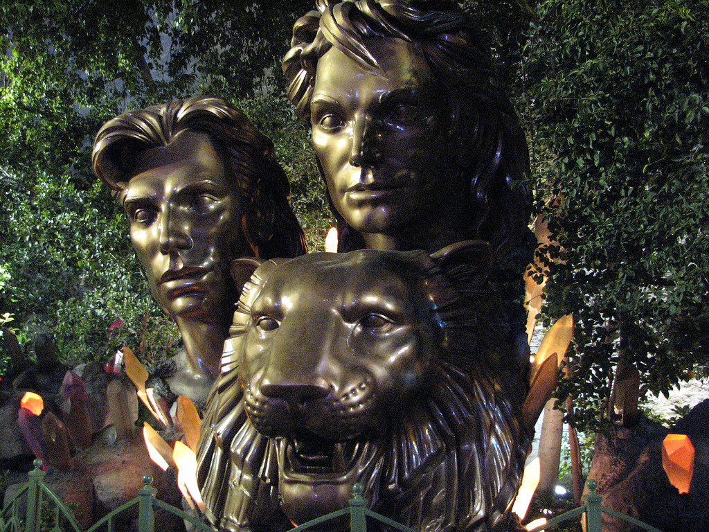 Siegfried and Roy.