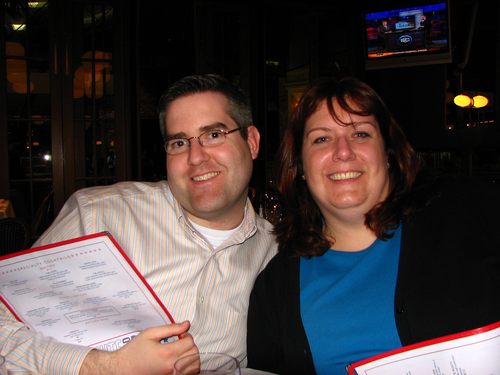 HR Boot Camp class of 2005 — Heather and Steven.
