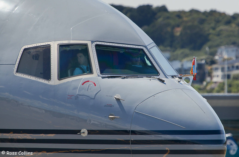 Arrival of HRH Prince Charles at Wellington International Airport on 14 November 2012