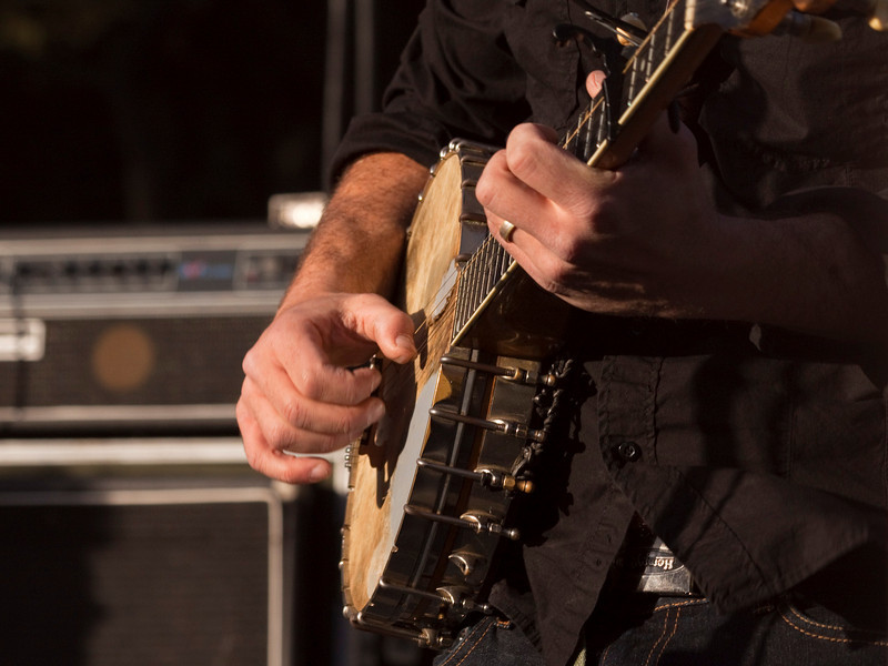 Leonard Podolak (The Duhks).  Hardly Strictly Bluegrass 2009