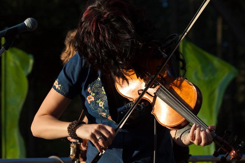 Tania Elizabeth (The Duhks).  Hardly Strictly Bluegrass 2009