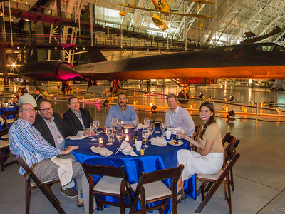 Dinner in front of the SR-71