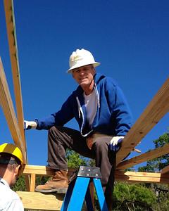 Habitat for Humanity - Episcopal Build - April 2013