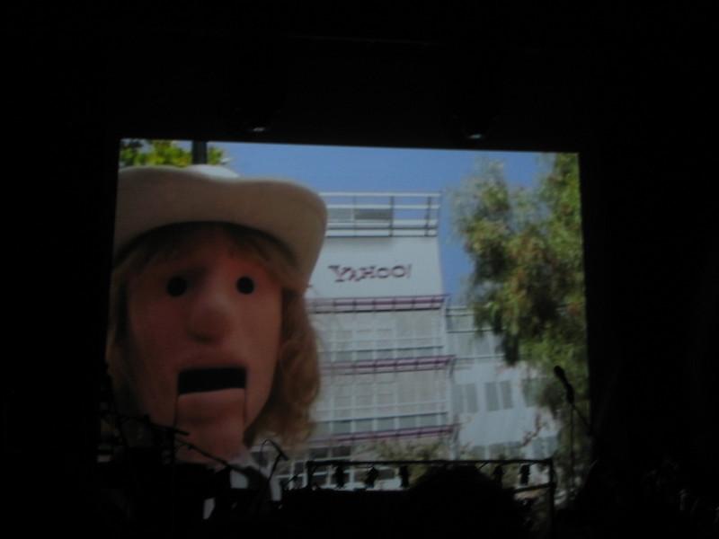 Beck Puppet at HQ