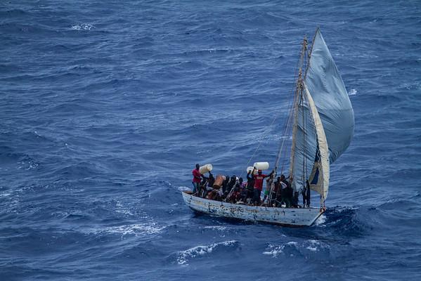Haitian Boat Rescure