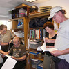 <b>Hal Wiedemann Research Library Dedication</b> Serena Rinker, Hal Wiedemann, Gail Wiedemann LaMotte, Roger Wiedemann <i>- Marta Isaacson</i>