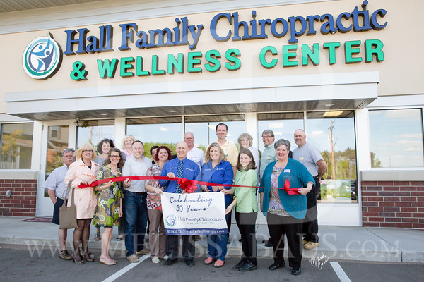Hall Family Chiropractic Ribbon Cutting
