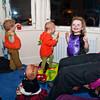 The children begin running riot