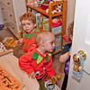 The children run away to create havoc in Felix's room