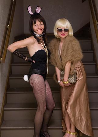 Patricia & Amy Halloween 0992
