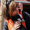 "A new baby goat, Flower, spends some quality time with Savannah Clay, of Anderson Farms, outside Erie.<br /> For more photos and a video of Anderson Farms, go to  <a href=""http://www.dailycamera.com"">http://www.dailycamera.com</a>.<br /> Cliff Grassmick / October 7, 2010"