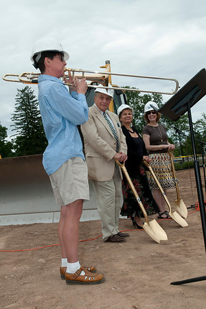 Hamilton College Studio Art/Theatre Facilities Groundbreaking