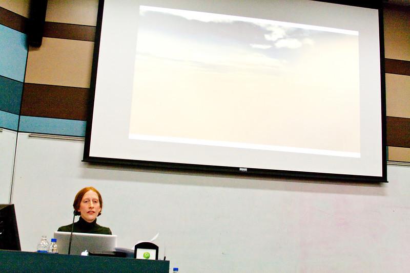 Rebecca Grabill's grad lecture.