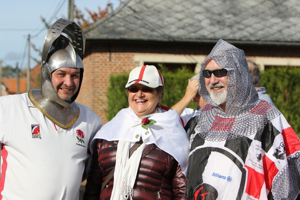 Hampstead Pals visit to Agincourt
