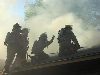 Hampstead Training Burn 11-15-03