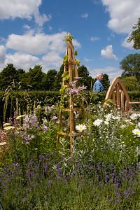 Show garden at Hampton Court Flower Show