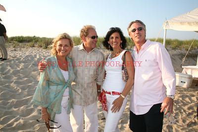 Debra Halpert, Andy Jacobs, Elaine and Jim Saladino