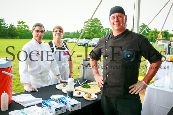 Joe Plescia, Karen Plescia, Chef Todd Jacobs (Fresh Hamptons)