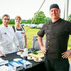 Joe Plescia, Karen Plescia, Chef Todd Jacobs (Fresh Hamptons)