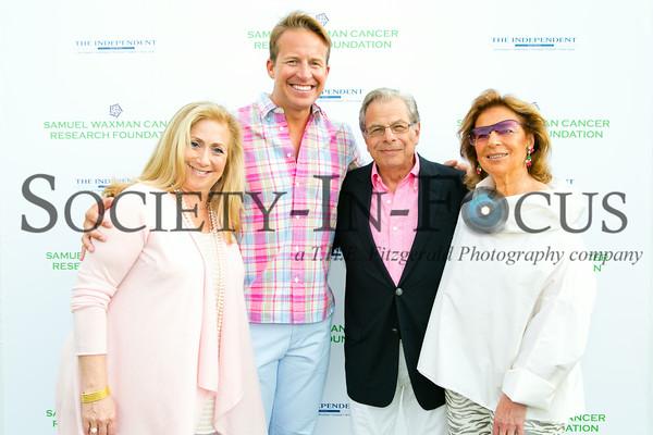 Laurie Schaffran, Chris Wragge, Dr. Samuel Waxman, Marion Waxman