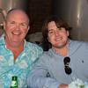 Winner of Foursome at The Bridge in Bridgehampton - Kevin McCabe with KJ McCabe