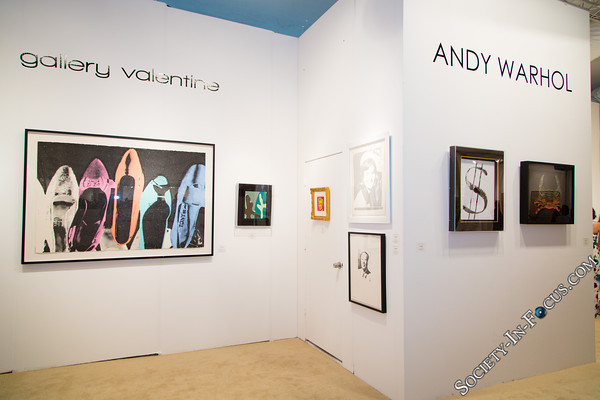 Andy Warhol Collection at Gallery Valentine
