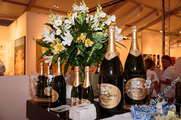 Champagne in the VIP Area