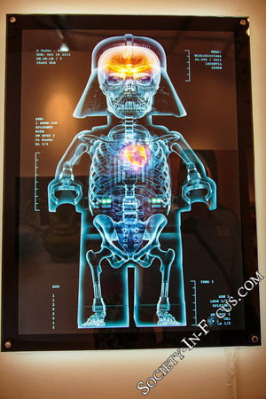 """X-Ray Vader Lightbox"" by Dale May"